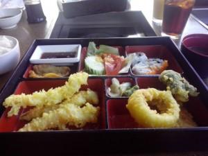 Ланч в японском ресторане, $12