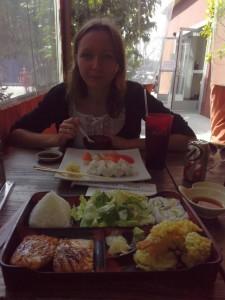 Ланч в японском кафе, $27
