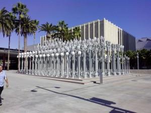 Urban Lights в Музее искусств Лос-Анджелеса